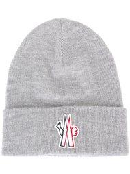 шапка с заплаткой с логотипом Moncler Grenoble
