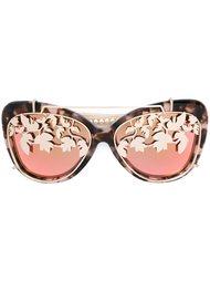 солнцезащитные очки в оправе 'кошачий глаз' Matthew Williamson