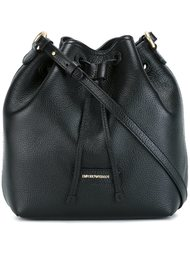 сумка на плечо со сборкой Emporio Armani
