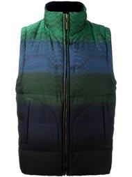 куртка-пуховик в полоску Missoni
