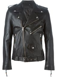 байкерская куртка  Blk Dnm
