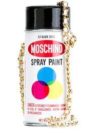 сумка в форме балончика с краской Moschino