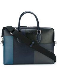 сумка для ноутбука в стиле пэчворк Burberry