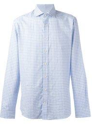 клетчатая рубашка на пуговицах Hackett