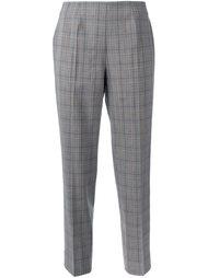 checked trousers  Piazza Sempione