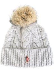 шапка-бини с помпоном  Moncler Grenoble