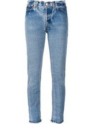 джинсы скинни с высокой талией Re/Done