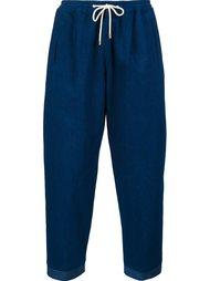 брюки прямого кроя Umit Benan