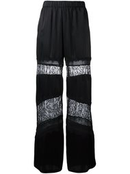lace panel flared trousers Twin-Set