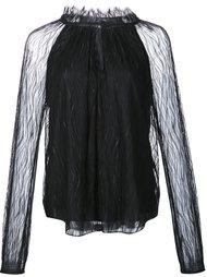 sheer blouse  Zac Zac Posen