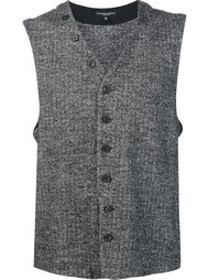 жилет на пуговицах Engineered Garments