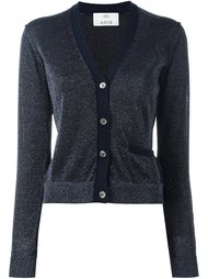 metallic effect cardigan Allude