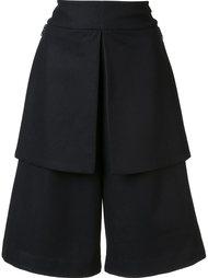 wide-legged knee-length shorts Y-3
