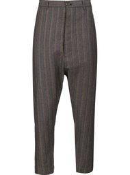 брюки в полоску Vivienne Westwood Man