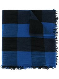 'Quadri' checked scarf Faliero Sarti