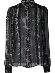 floral print sheer shirt Giambattista Valli