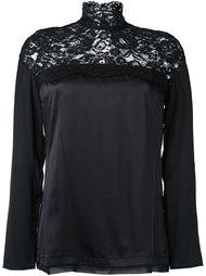 lace panel blouse  Twin-Set