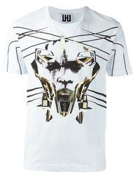 футболка с графическим принтом Les Hommes Urban