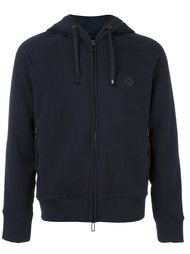 two-way zipped hoodie Emporio Armani