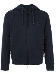 two-way zipped hoodie Emporio Armani