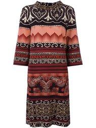 платье средней длины с орнаментом Etro