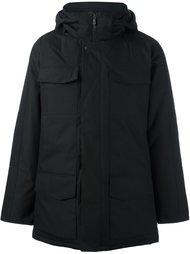 пальто на молнии с капюшоном Canada Goose