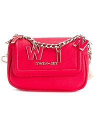 lettered chain crossbody bag Twin-Set