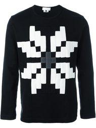 'Snowflake' sweatshirt  Ganryu Comme Des Garcons