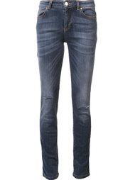 джинсы кроя скинни Versace Collection