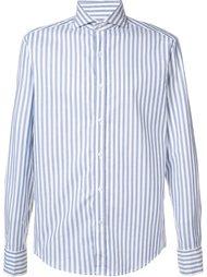 рубашка в полоску Michael Bastian