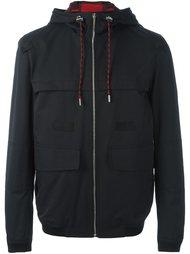 куртка с капюшоном в клетку Dior Homme