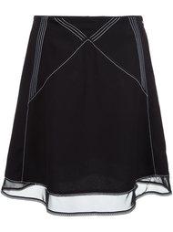 юбка с декоративным швом J.W.Anderson