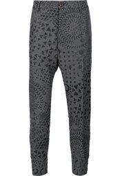 брюки с геометрическим принтом Vivienne Westwood Man