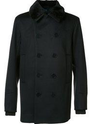 двубортное пальто Oamc