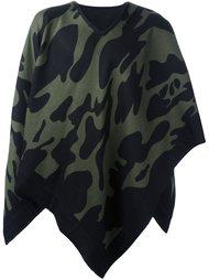 камуфляжный шарф-накидка Hydrogen