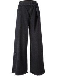 джинсы с присборенной талией Marc Jacobs