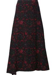 abstract print full skirt Y's