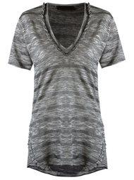 v-neck t-shirt Andrea Bogosian