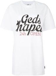 футболка с принтом-логотипом Gcds