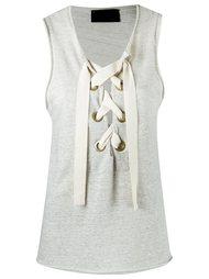 sleeveless blouse Andrea Bogosian