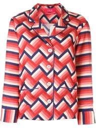 шелковая рубашка с принтом For Restless Sleepers
