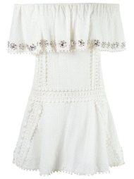 off shoulder dress Andrea Bogosian