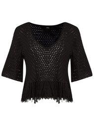 knit blouse Andrea Bogosian