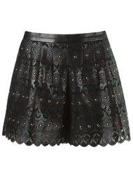 lace shorts Andrea Bogosian