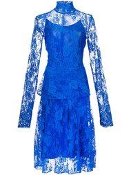 кружевное платье с высокой горловиной Tome
