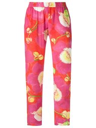 silk printed trousers Isolda