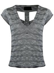v-neck blouse Andrea Bogosian