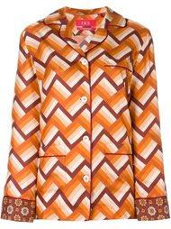 шелковая пижама с принтом For Restless Sleepers