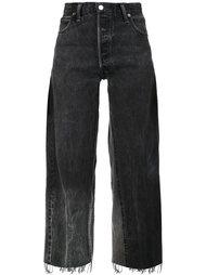 укороченные джинсы бойфренды Re/Done