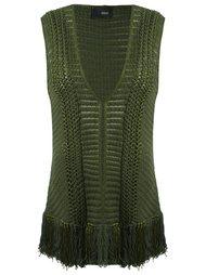 knit vest Andrea Bogosian
